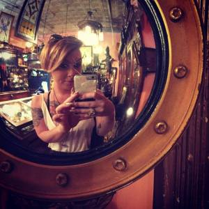 Jaimie at Anastacia's Antiques in Philly