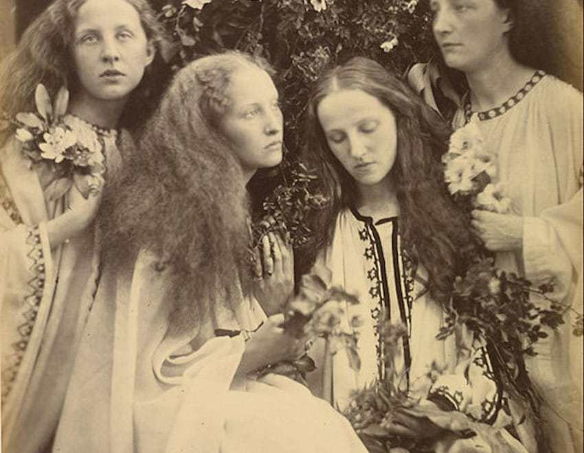 Victorian Hair Four Women