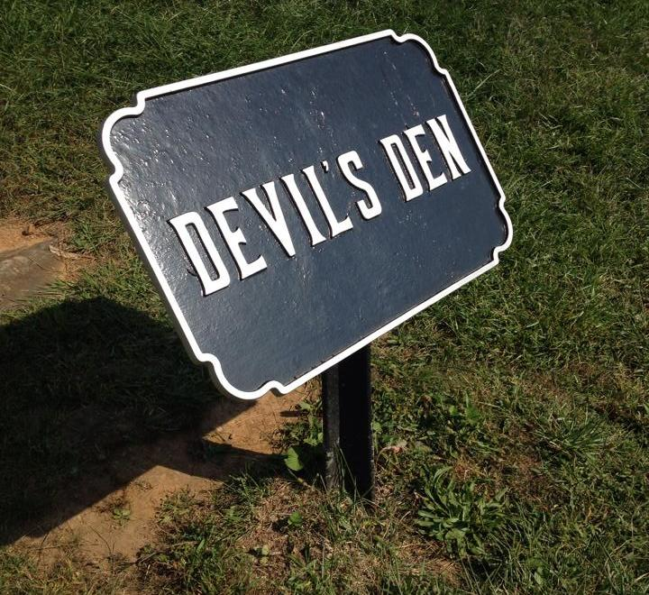 Devil's Den Plaque