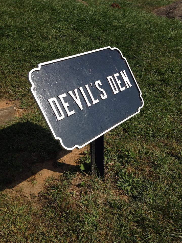 Devil's Den Plaque