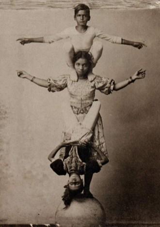 Vintage Circus Sideshow Performer