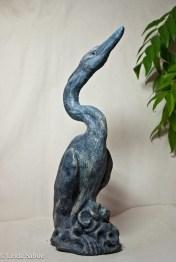 Blue Heron by Linda Saboe