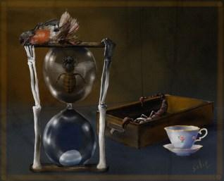 Tea Time by Linda Saboe