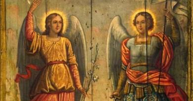 Sfinţii Arhangheli Mihail şi Gavril