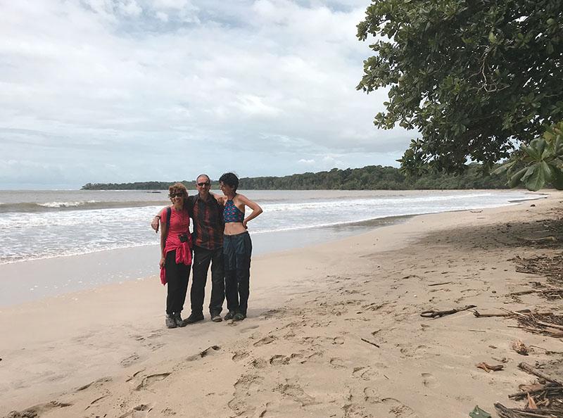 playa de Cahuita parque nacional