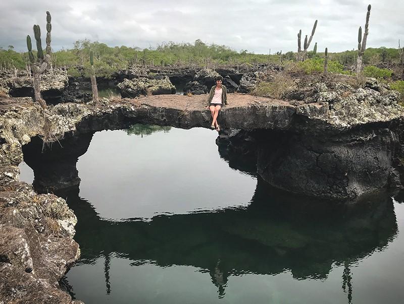 Lugares turísticos en isla Isabela