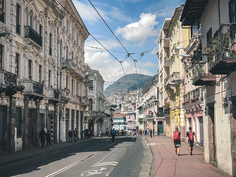 Calles que visitar en Quito