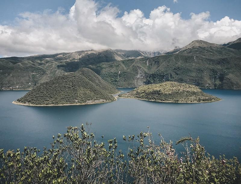 Cómo llegar a la laguna de Cuicocha desde Quito