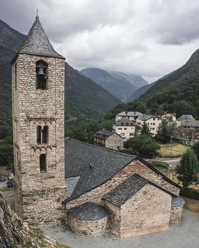iglesia románica de Santa Eulàlia de Boí