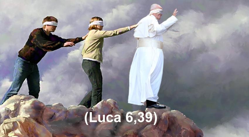 Se il Papa si vergogna di testimoniare Cristo…