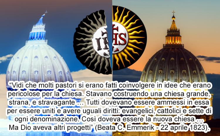 """I gesuiti novatores al comando della loro """"nuova chiesa"""" (apostata)"""