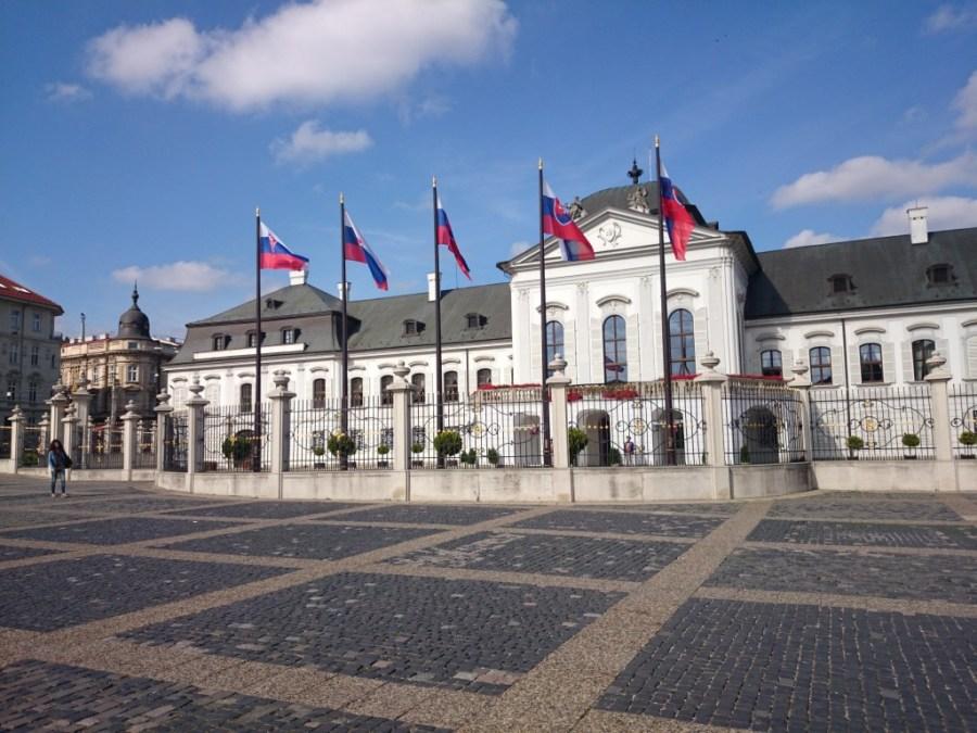 Palacio de Grassalkovich. Bratislava