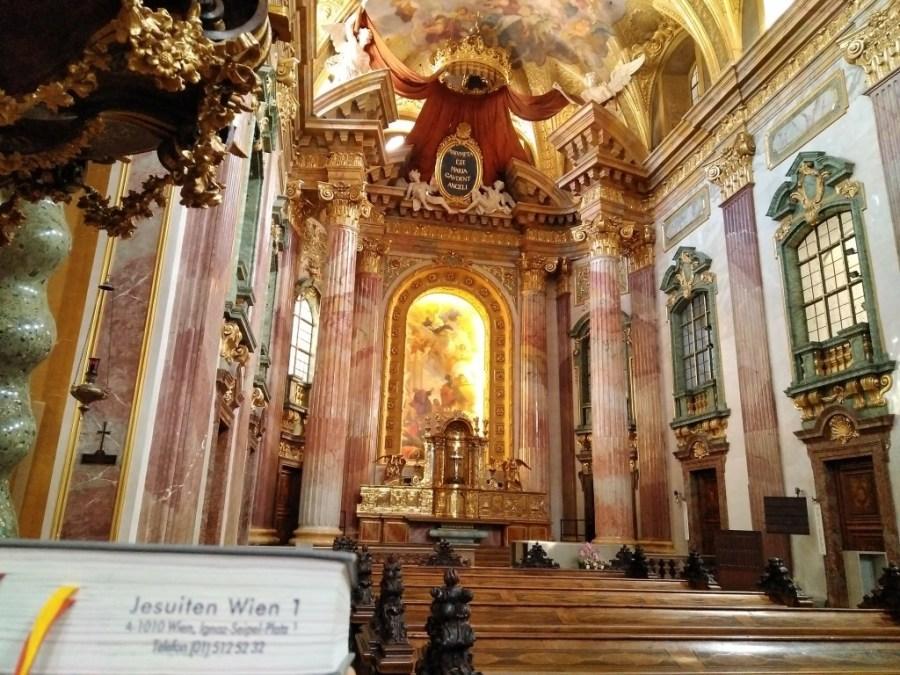 Iglesia Jesuita de Viena.