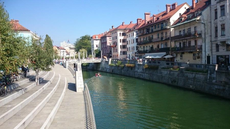 Puente de los Zapateros sobre el Ljubljanica.