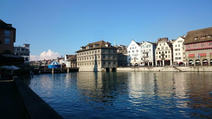 Qué ver en Zurich. Rathaus, ayuntamiento.