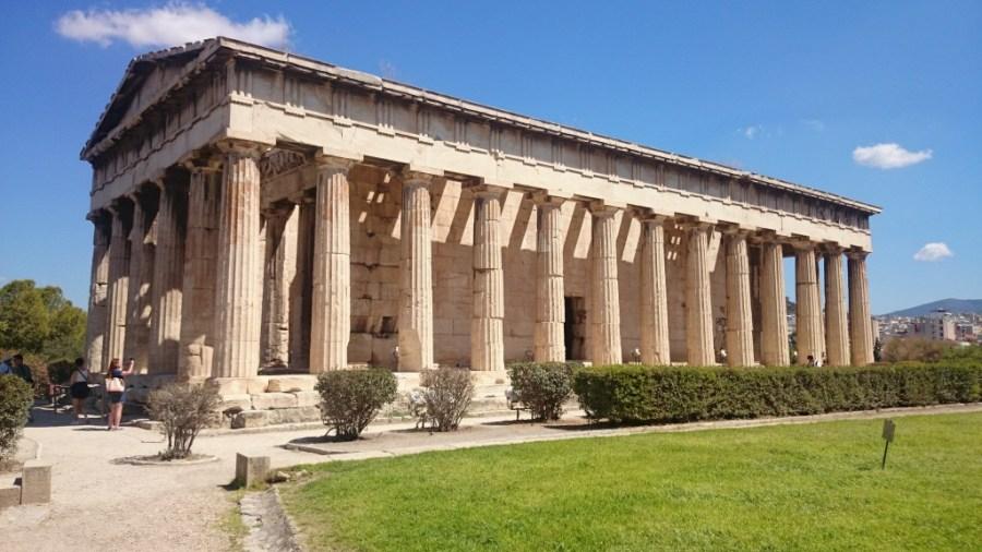 Qué ver en Atenas. Templo de Hefesto.