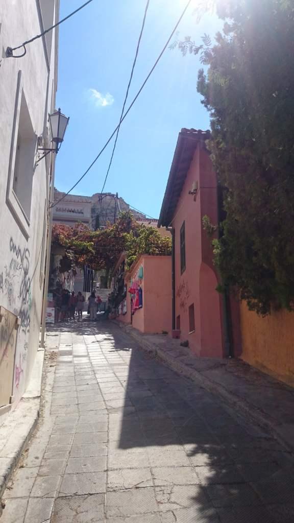 Qué ver en Atenas. Calles Anafiotica.