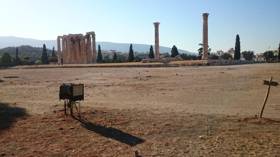 Templo de Zeus Olímpico. Qué ver en Atenas