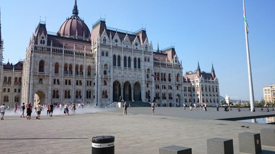 Exterior del Parlamento