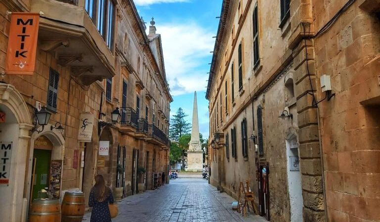 Qué ver en Ciudadela Menorca, Carrer Major des Born