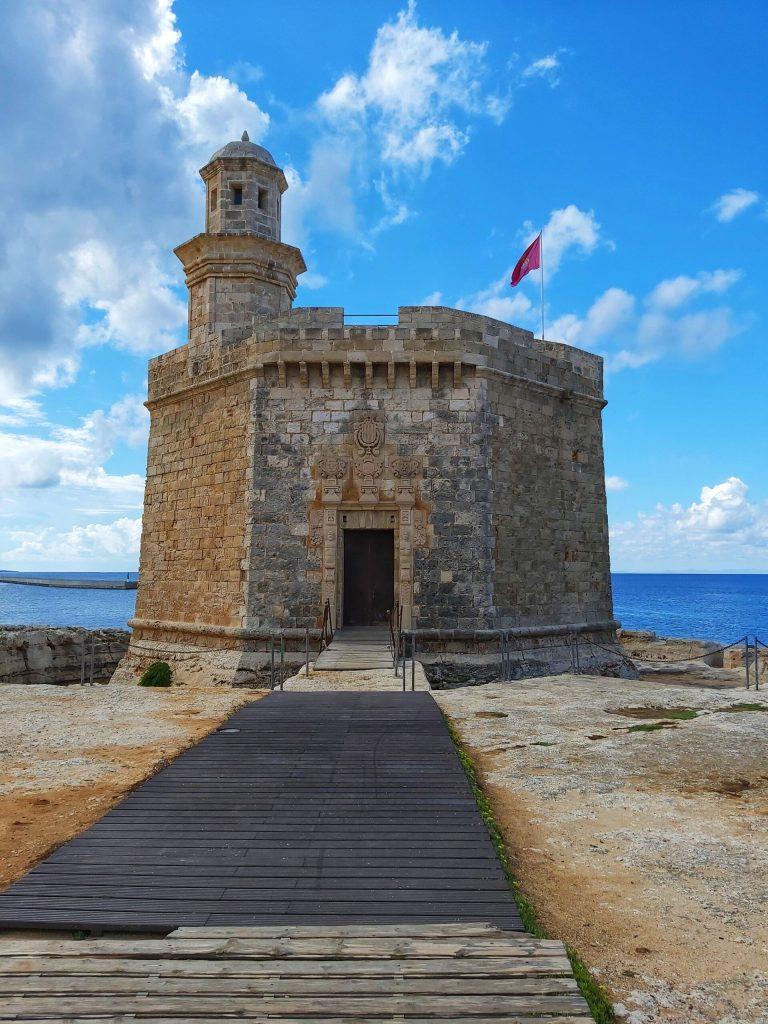 Qué ver en Ciudadela, Castillo de San Nicolás