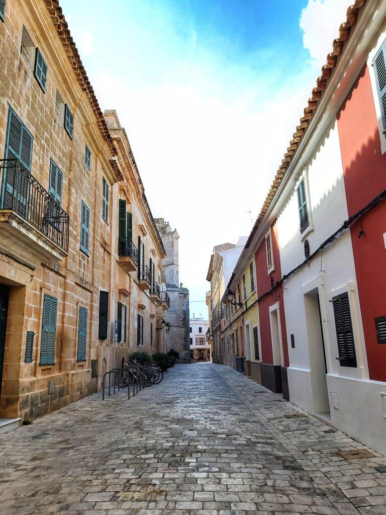 Qué ver en Ciudadela,Casco histórico