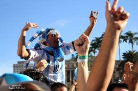 Copa do Mundo 2014. Fifa Fan Fest Sao Paulo. ArgentinaxSuiça (17)