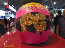 Salão Automoveis 2014 homenagem Ayrton Senna capacete Preta Gil (20.1)