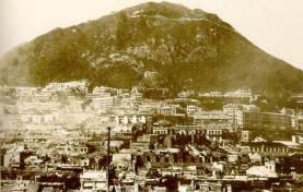 1922年半山區及山頂Mid levels and the Peak
