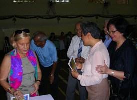 Com Acaio D'Assumpção+ (1º da esquerda), Rui Senna Fernandes+, Cecília e Natércia