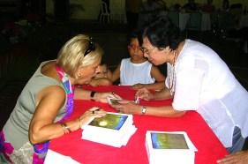 Com Dalia Jorge Luz