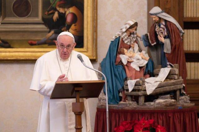 Papa Francisco pidió unidad política ante la crisis