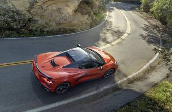 Chevrolet Corvette Stingray Convertible del 2021