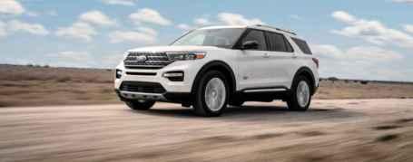 Nueva Ford Explorer con la elegante versión King Ranch