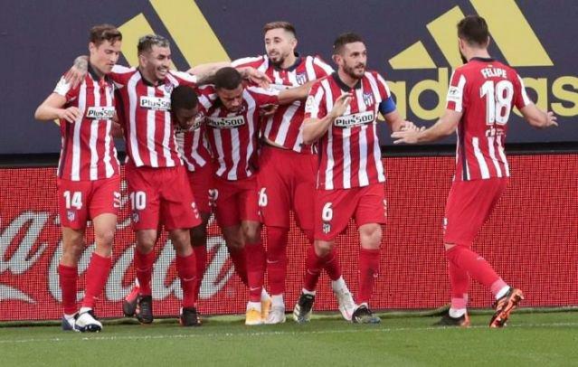 Koke, Atlético de Madrid, estamos, muy fuertes, gran temporada, jornadas, 2021, fútbol, España, fútbol español, deportes