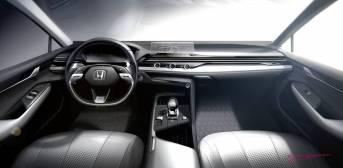 Honda con nueva filosofía de diseño de interiores