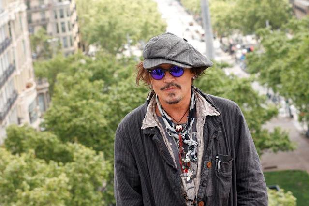 Johnny Depp, Los fotógrafos dejan parte del alma en cads foto