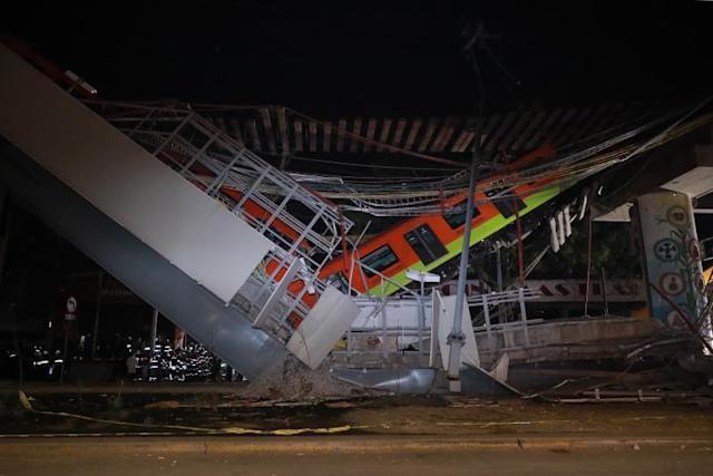 López Obrador dice que se llegará al fondo del accidente del metro