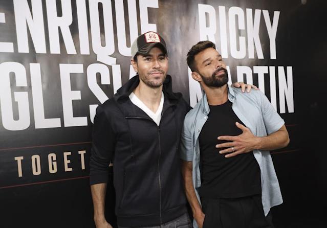 Ricky Martin y Enrique Iglesias anuncian las fechas de su giras con Yatra.