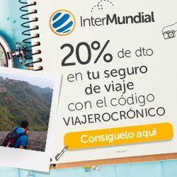 Seguro de viaje Intermundial con un 20% descuento