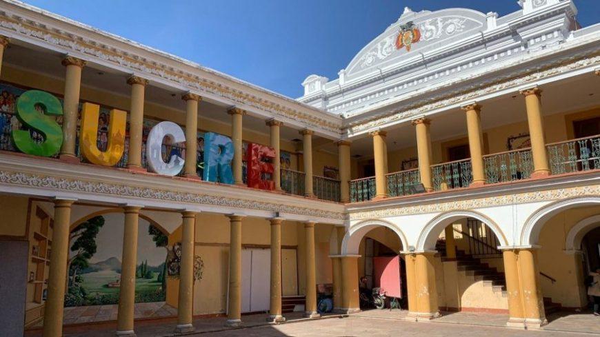 Edificio colonial de Sucre