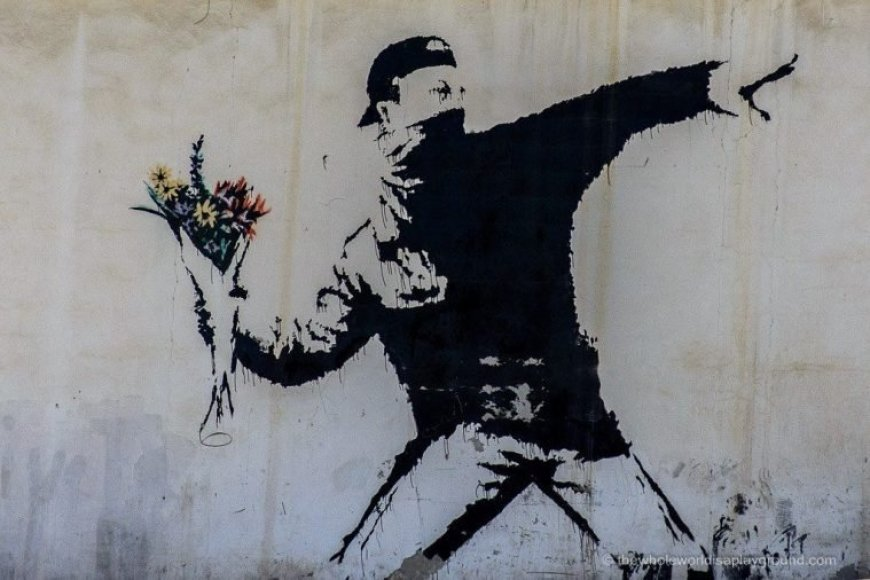 Grafitti Bansky Belén