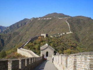 Muralla china en nuestra visita a Pekín