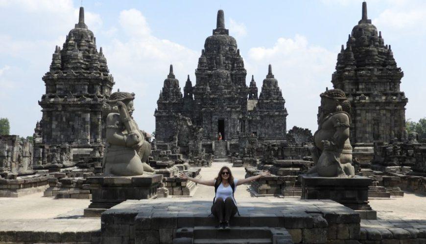 Candi Sewu, uno de los mejores momentos de un viaje a Indonesia