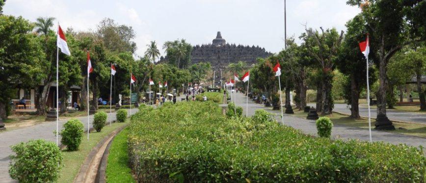 templo de borobudur, uno de las cosas más bonitas que ver en Yogyakarta