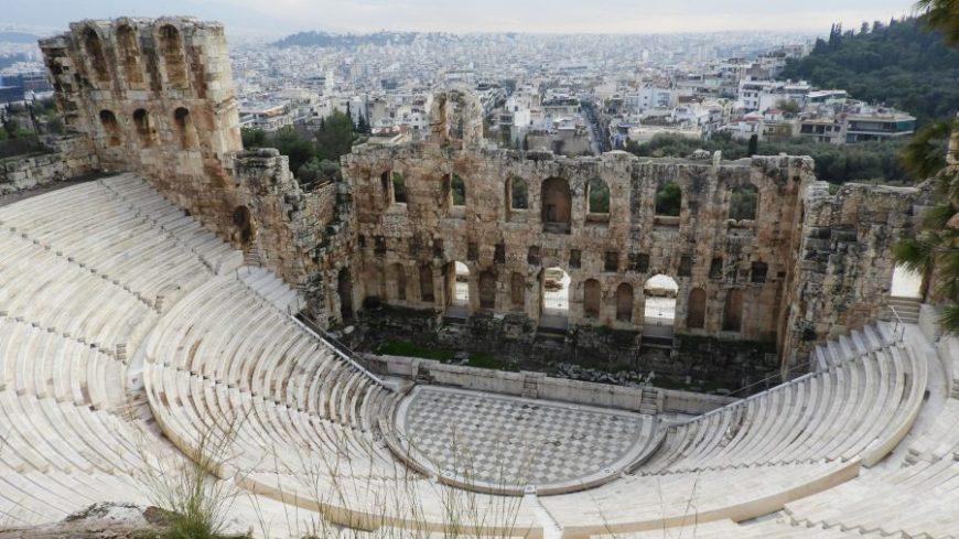 Odeón Herodes , de los mejores lugares que ver en Atenas