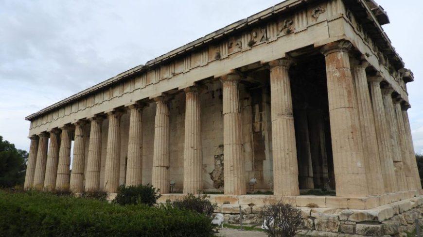 Templo Hefesto, el templo mejor conservado que ver en Atenas