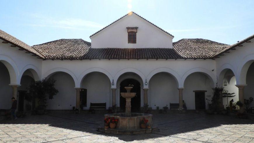 Casa de la Libertad en mi viaje a Sucre