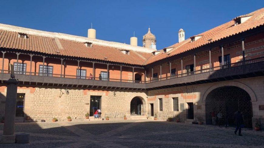 Interior de la casa de la moneda en Potosí