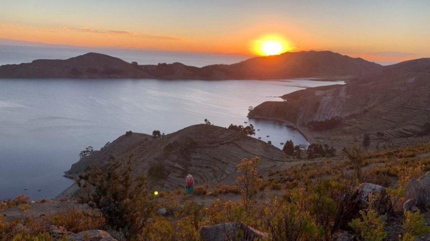Puesta de Sol en Isla del Sol